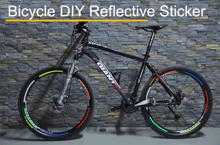 ROCKBROS Bicycle Wheel Reflective Paste with UV Paintcoat