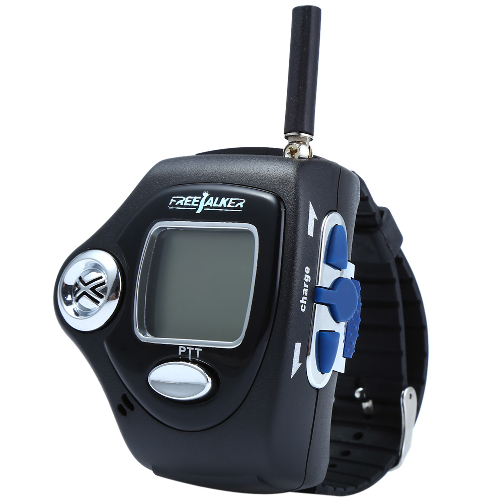 820 2pcs Wrist Watch Style Walkie Talkie with Adjustable Band