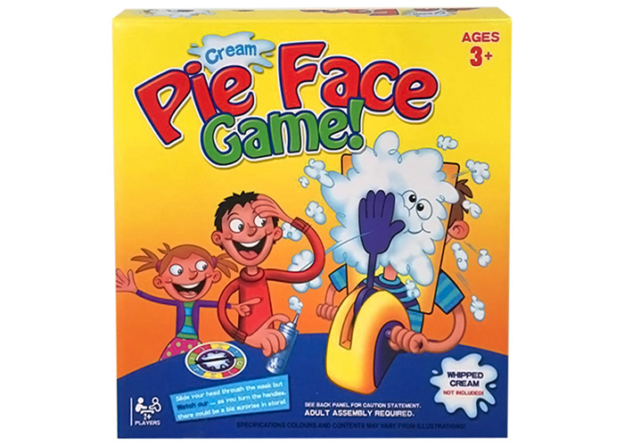 Pie Face Cream Trick Game Fun and Exciting Tricky Toy