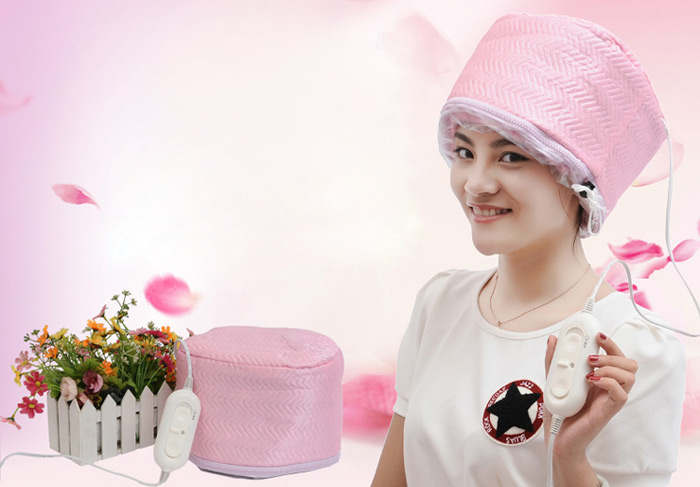 Practical Hair Dryer Treatments Hat Haircare Soft Hood Attachment Heating Cap