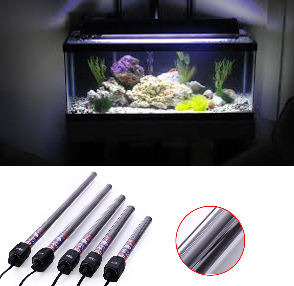 HL-288 Adjustable Aquarium Fish Tank Blastproof Water Temperature Thermostat Heater