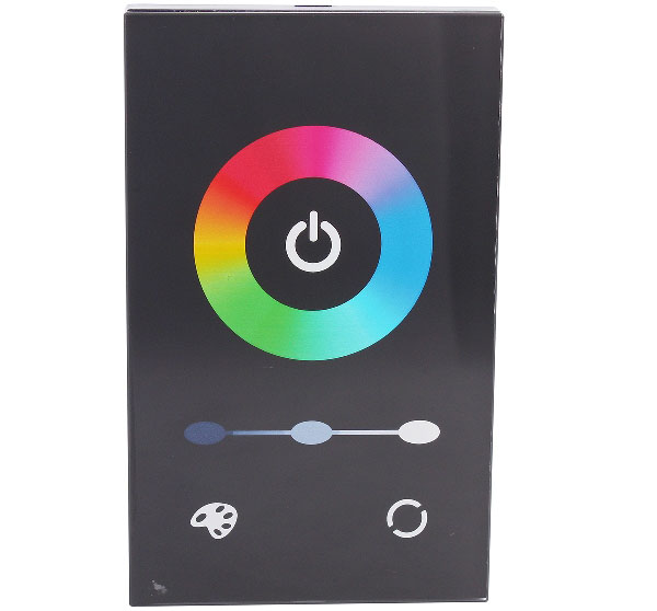 12A 3-Channel Touch Panel Dimmer Controller for RGB LED Strip Lamp ( DC 12 - 24V )