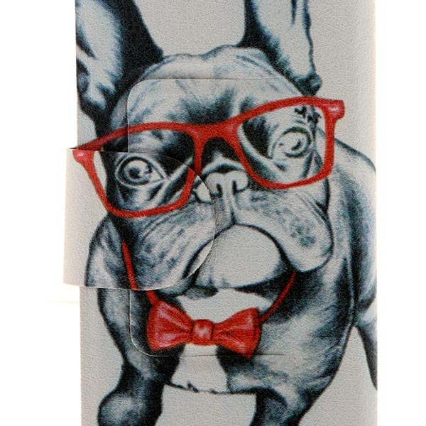 Kinston Doggy Pattern PU Leather Flip Case with Stand for Samsung Galaxy Note 3