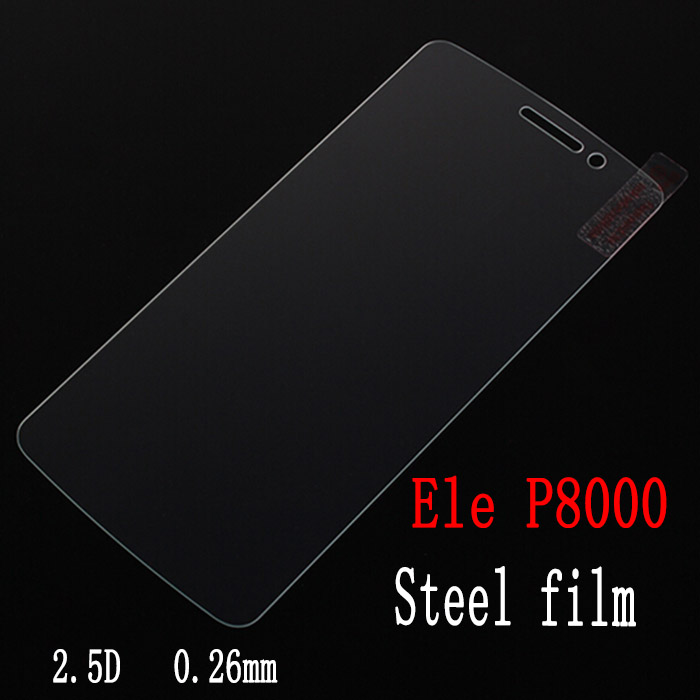 Tempered Glass 0.26mm 2.5D Screen Protector Film for Elephone P8000