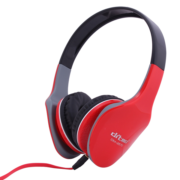 Ditmo DM2570 Foldable Headset Stereo Headphone with 3.5mm Jack 1.2m Cable for iPhone 6 / 6S / 6 Plus Samsung Note 5 S6 Edge Plus etc.