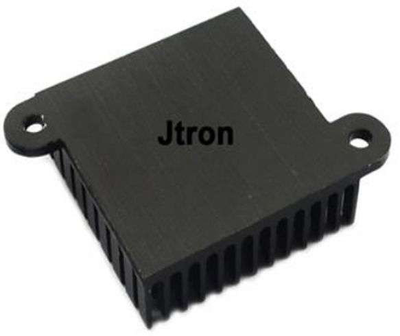 Jtron Aluminum Heatsink / Radiator / Chip for CPU Computer High Performance with Two Holes