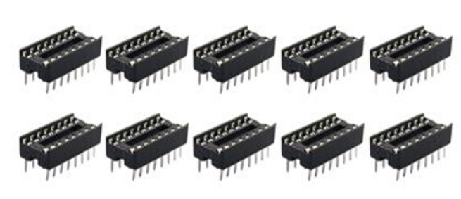 Jtron 16P Integrated Circuit Socket Dielectric Withstanding - 10PCS