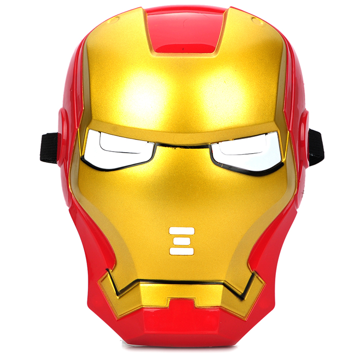 Cosplay Iron Man Mask with Blue Lite - Up Eyes Halloween Costumes