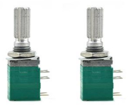 2PCS MaiTech 8Pin B50K Potentiometer with Switch for Arduino