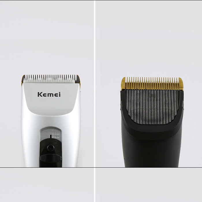 KM-1201 Rechargeable Cordless Electric Hair Clipper Machine Kit