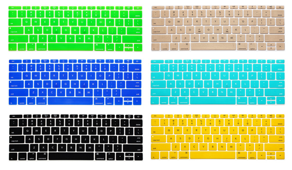 ENKAY Water-proof Ultra-thin Silicone Protective Keyboard Film for MacBook 12 inch