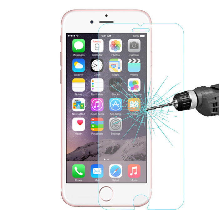 Hat-Prince Tempered Glass Screen Film for iPhone 6 Plus / 6S Plus Explosion-proof 9H 2.5D High Definition