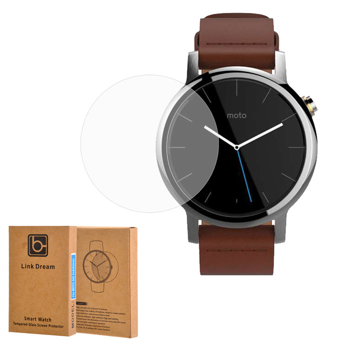 Tempered Glass Screen Protector for Smart Watch Moto 360 2nd Gen 42mm 0.2mm Ultra-thin