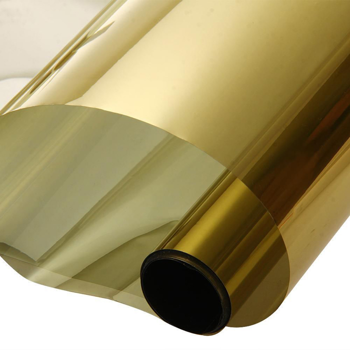 300cm UV Protection Roll Golden Car Glass Window Film Home Decoration Accessories
