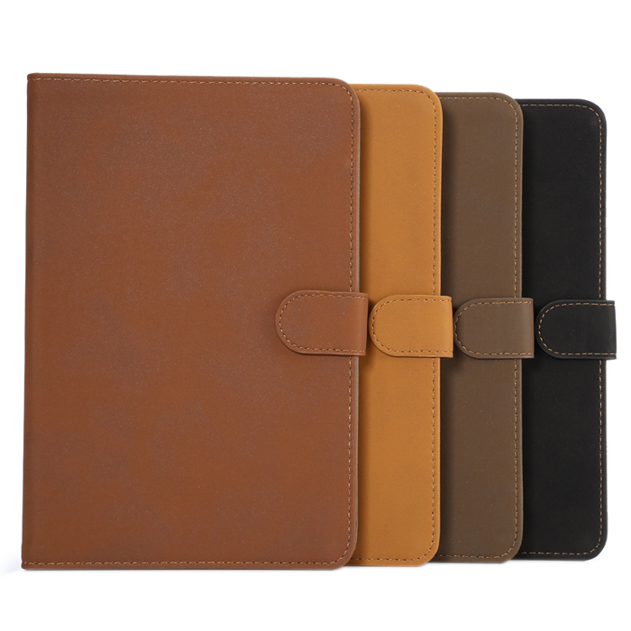 ENKAY PU Leather Protective Smart Case for iPad Mini 4 with Stand and Card Slot Auto-Sleeping Function