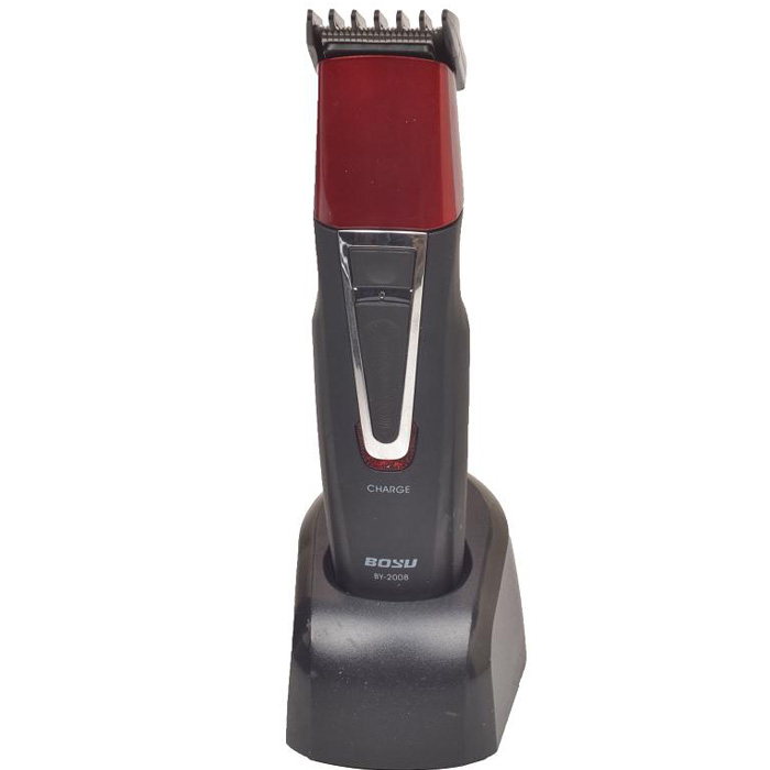 BY-2008 Electric Cordless Hair Clipper Rechargeable Razor