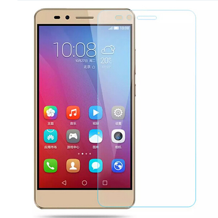 ASLING Tempered Glass Screen Protector for Huawei Honor 5X 0.26mm 9H 2.5D Arc High-definition