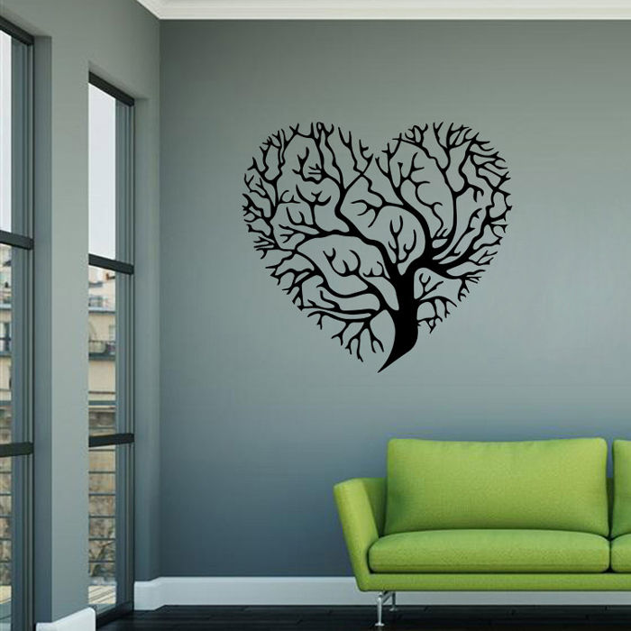 love tree design removable pvc wall sticker 6 60 online elephant wall decals reviews online shopping elephant