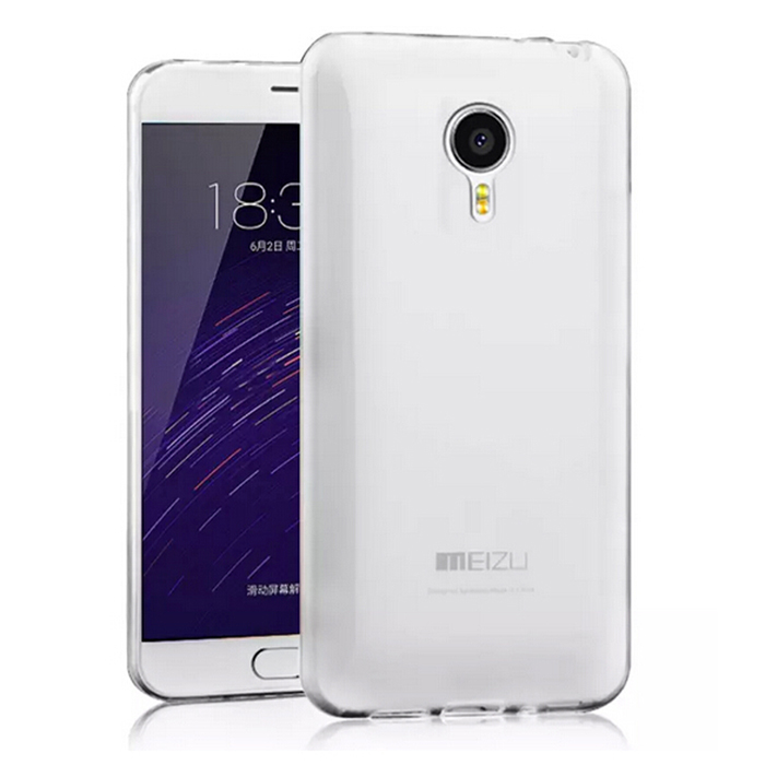 ASLING Protective TPU Soft Case for MEIZU MEILAN NOTE 2 Ultra-thin Transparency Style