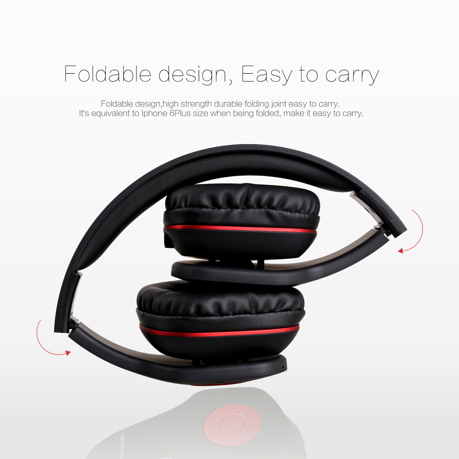 AUSDOM AH862 Wireless&Wired Business headphone Bluetooth 4.1 3.5mm AUX-IN hands-free headset Durable strong power 20h talk time 18h play time up to 1000h standby time HSP,HFP,A2DP,AVRCP 2.40GHz-2.48GH