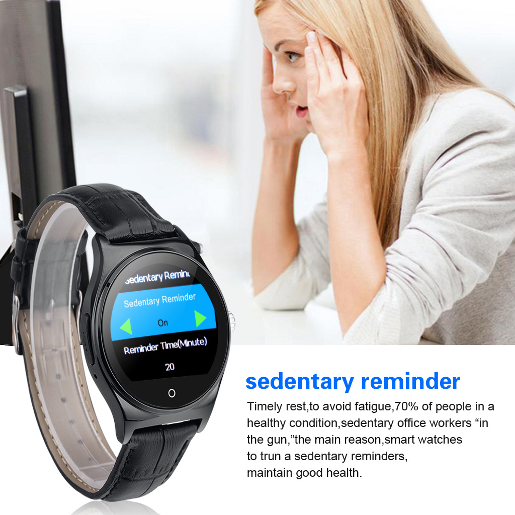 RWATCH R11 Smart Watch Infrared Remote Controller Heart Rate Calls / SMS Sedentary Reminder BT Music Pedometer Sleep Monitor for Android iOS