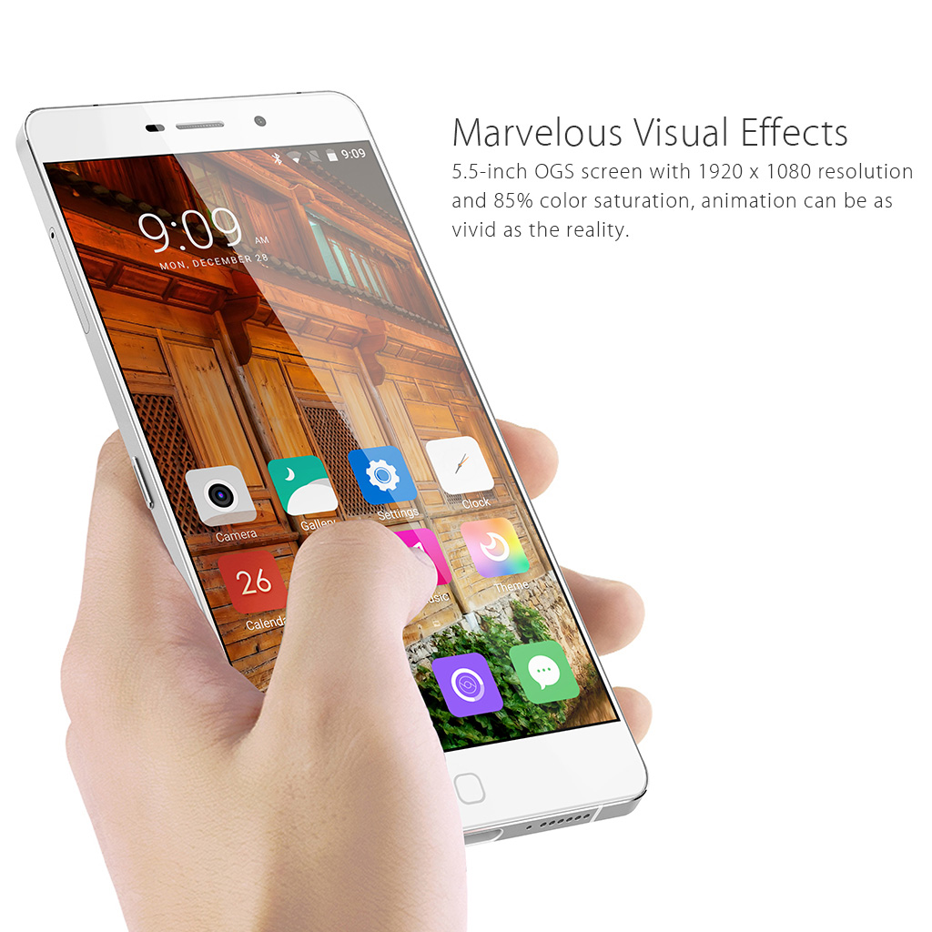 Elephone P9000 4G Smartphone Android 6.0 Fingerprint MT6755 Octa-core 2.0GHz 5.5 inch FHD 4GB ROM 32GB 3000mAh 13MP 8MP Camera