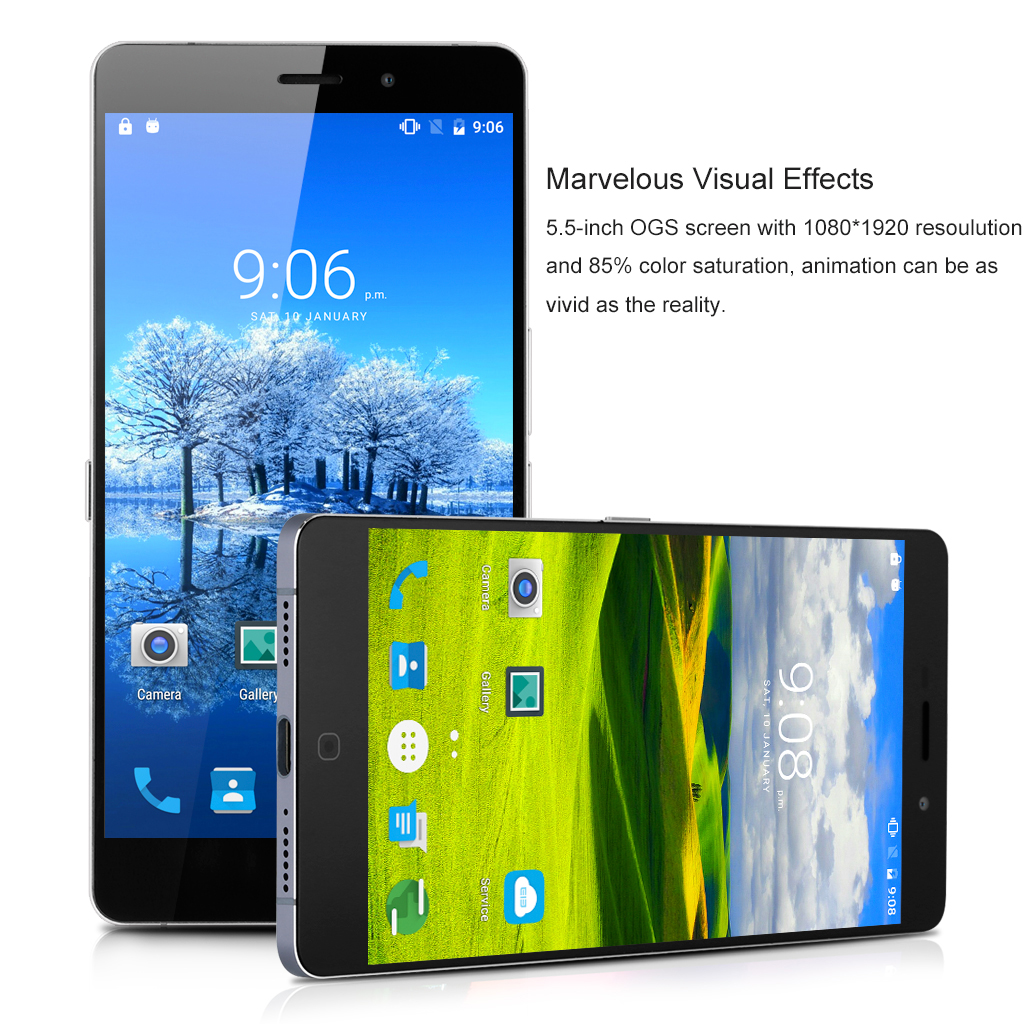 Elephone P9000 4G Android 6.0 Smartphone Fingerprint 5.5 inch FHD RAM 4GB ROM 32GB