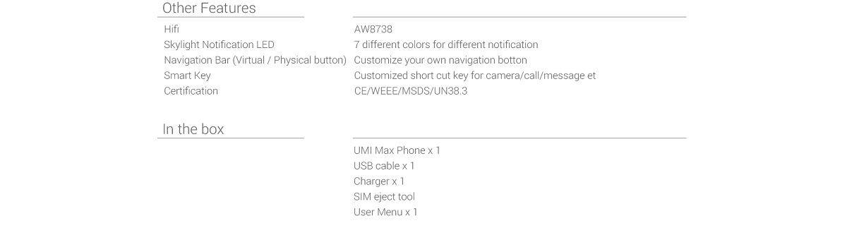 UMI Max Grey UK