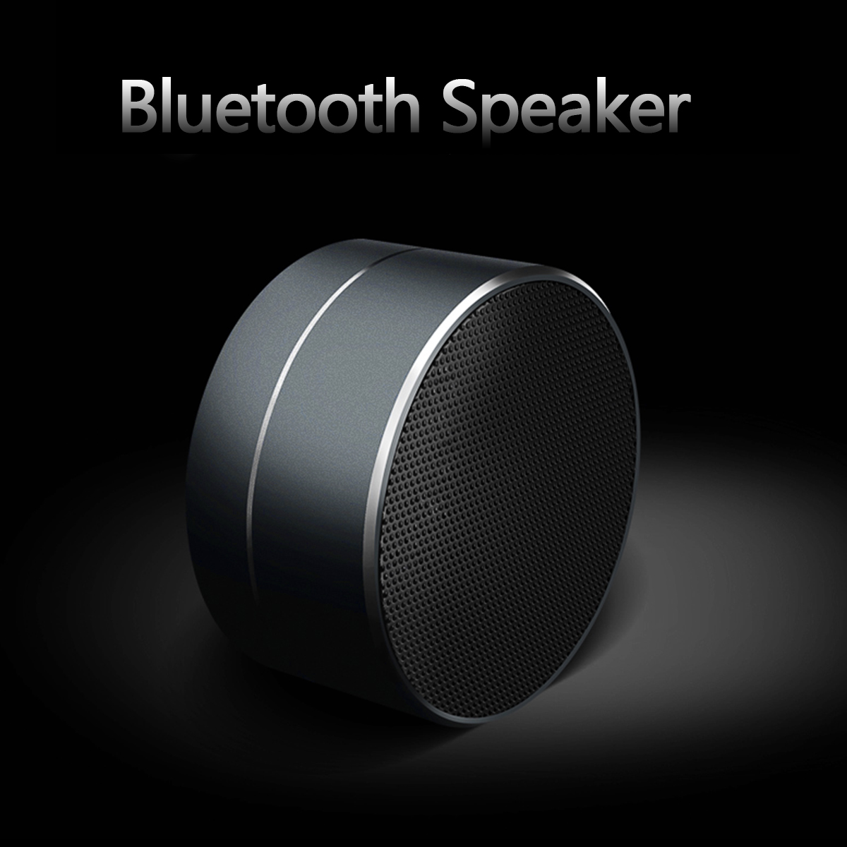 DOINGTOP DT - A10 3W 400mAh Mini Portable Bluetooth Speaker with LED Light FM Hands-free Call SD Card Play for Mobile Phone RDA2.1
