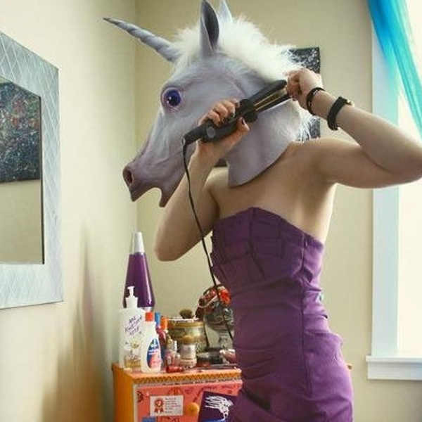 Creative Unicorn Mask Cosplay Prop For Fancy Ball Party Show
