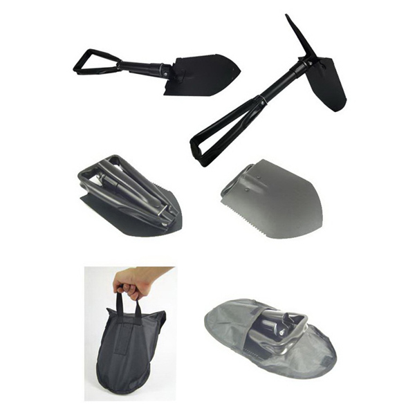 High Quality 4 in 1 Multifunction Folding High-Carbon Steel Garden Shovel