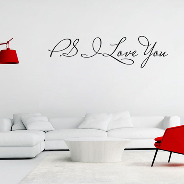 Home Decoration Removable Quote Wall Art Sticker