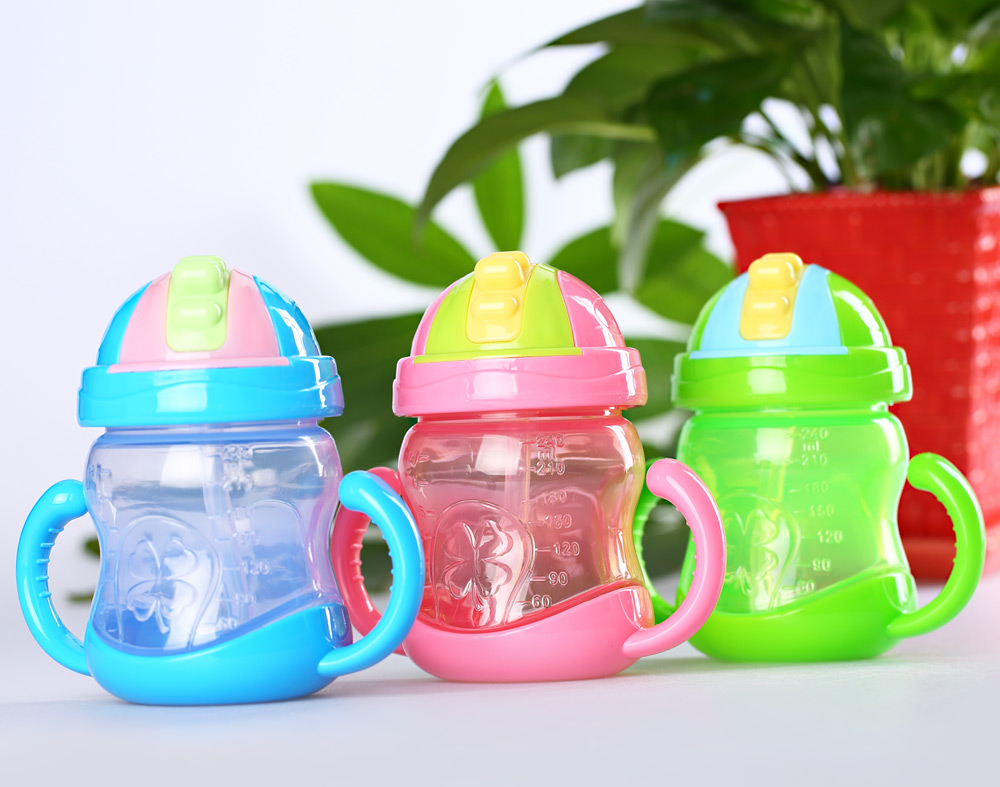 240ml Leakage-proof Portable Babies Bottle