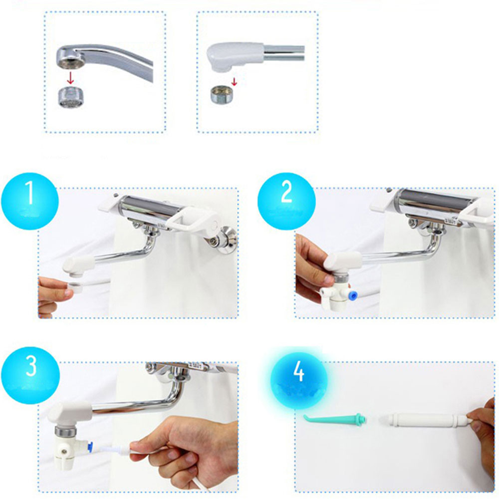 Useful Convenient Water Floss Oral Irrigator Dental SPA Cleaner