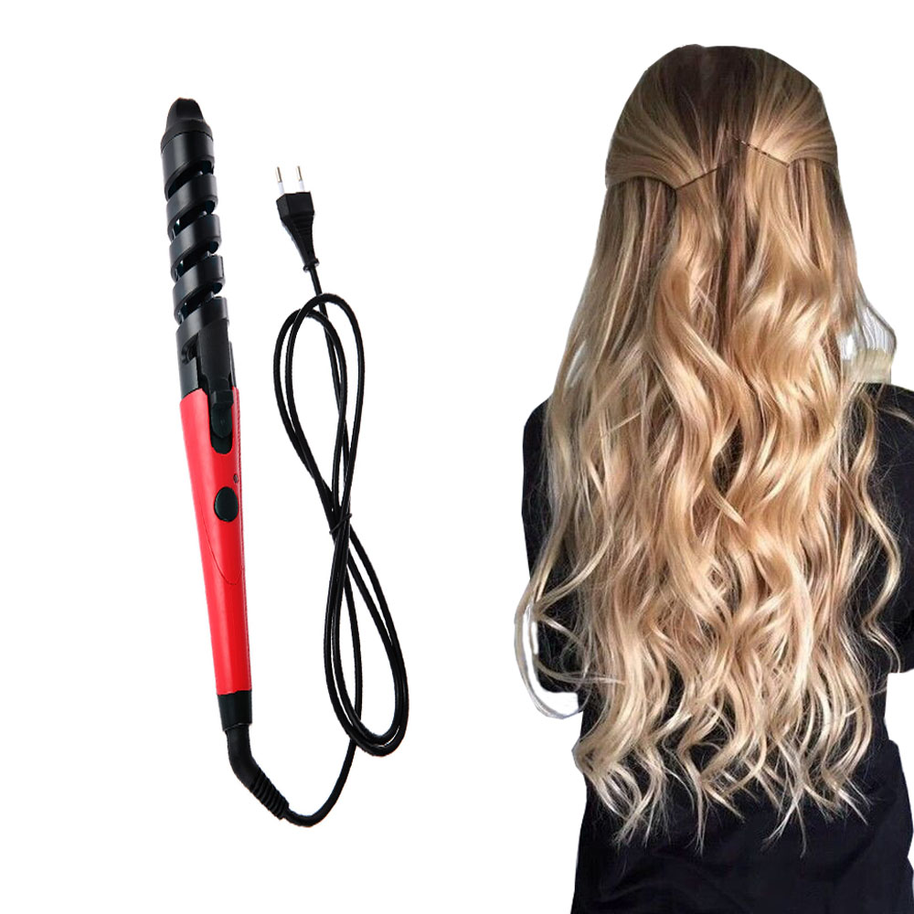 how to create wavy hair with curling iron
