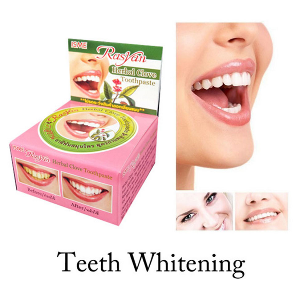 25g Dental Care Dentifrice Toothpaste Whitening Teeth Remove Smoke Tea Yellow Stains Plaque