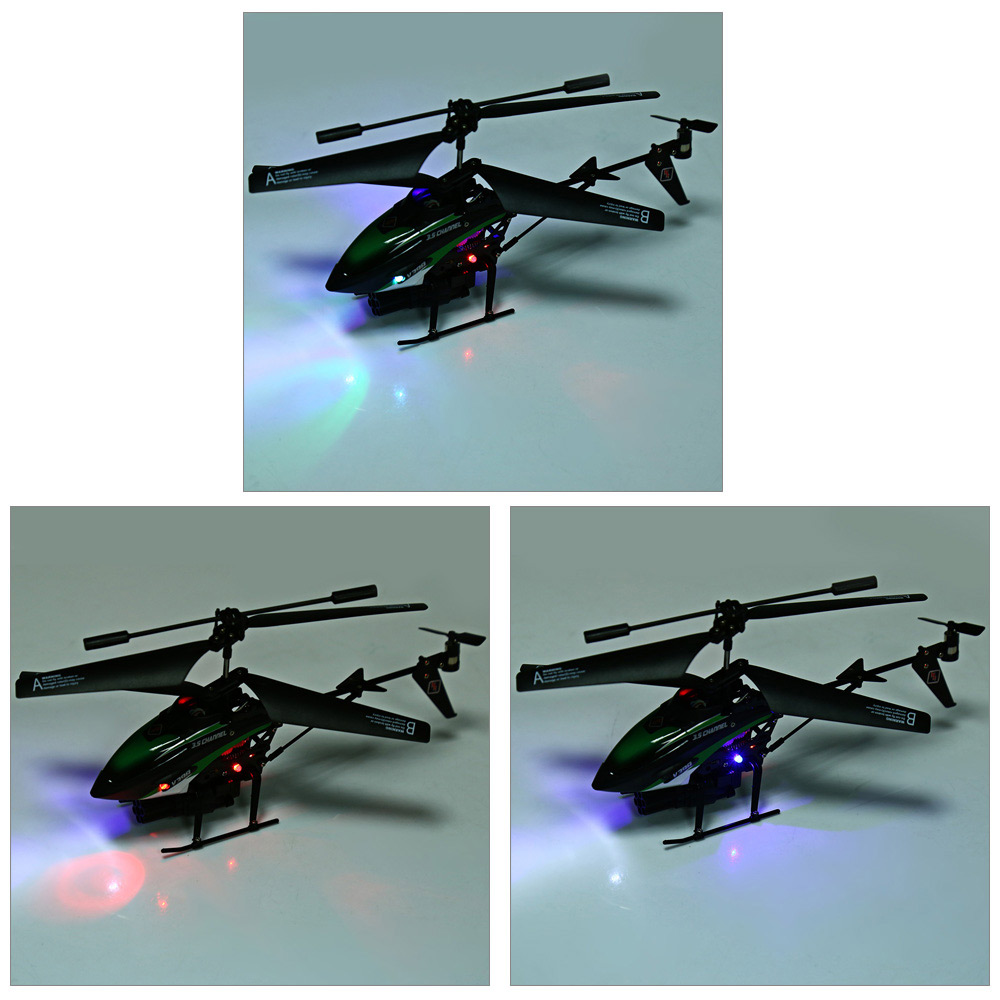 V398 Missile Launching 3.5CH RC Remote Control Helicopter with Gyro