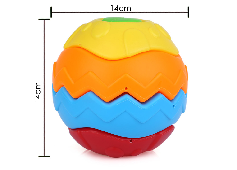 Puzzle Transformer Ball 3D Blocks Educational Toys Baby Toddler Kid