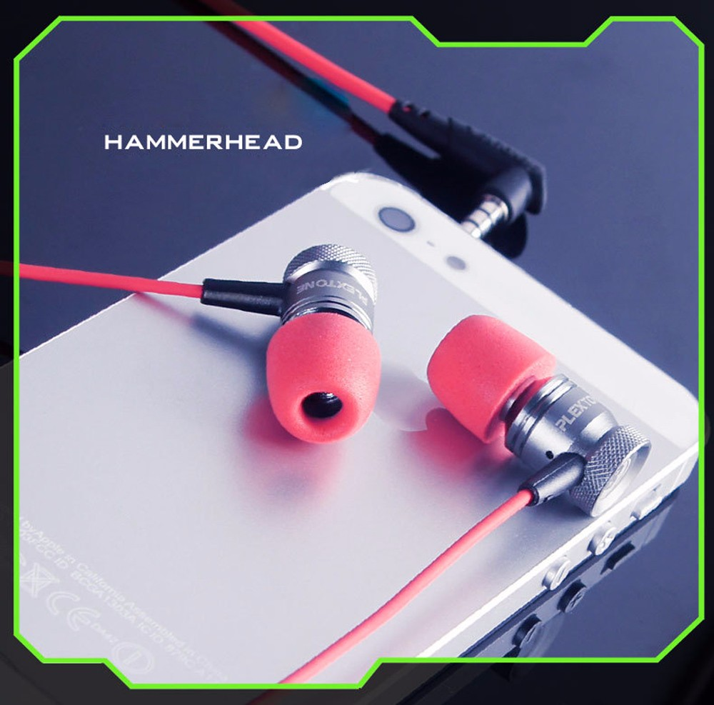 PLEXTONE G10 In-Ear Professional Gaming Headset 3.5mm Jack Noise Cancelling Stereo Bass Headphones