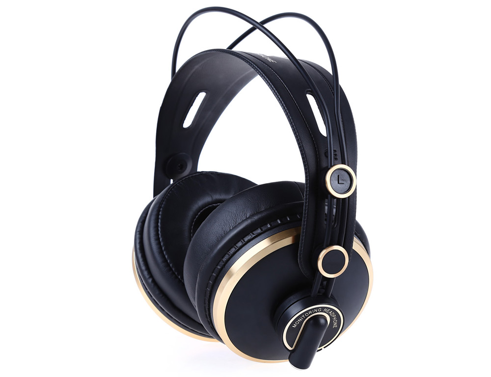 ISK HD9999 Fully Enclosed Monitoring Headphone with Carry Case
