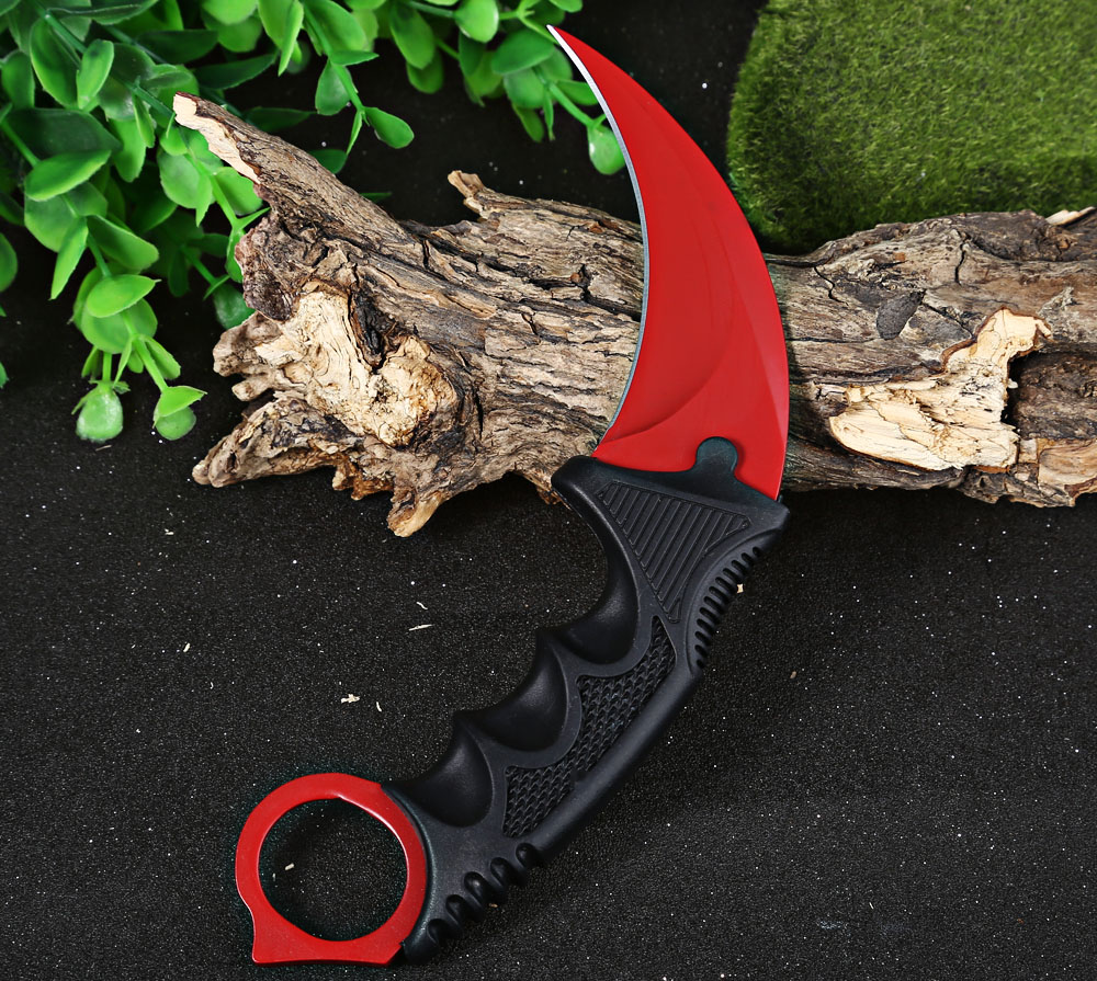 CS GO Counter Strike Karambit Knife Tactical Survival Camping Tool