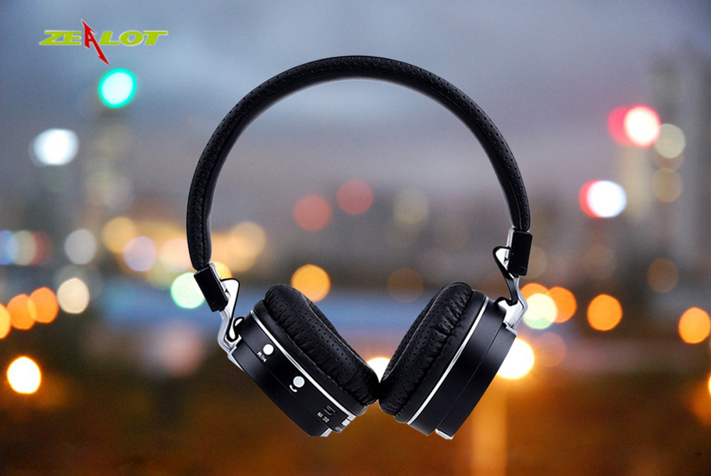 Zealot B17 Foldable Stereo Bluetooth V4.1 Headsets Headphones