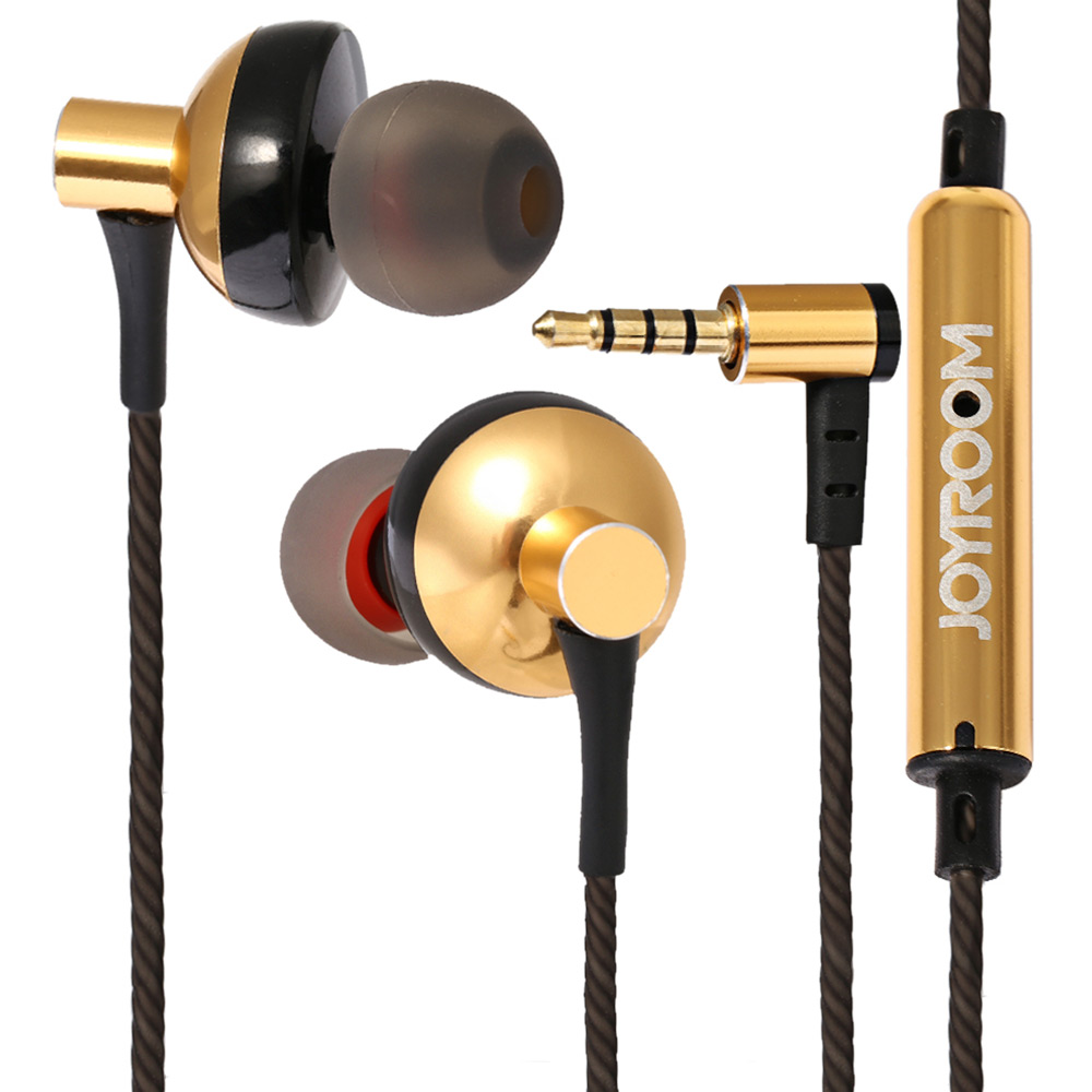 JOYROOM E108 3.5mm Plug Stereo Earphone In-ear Headphone