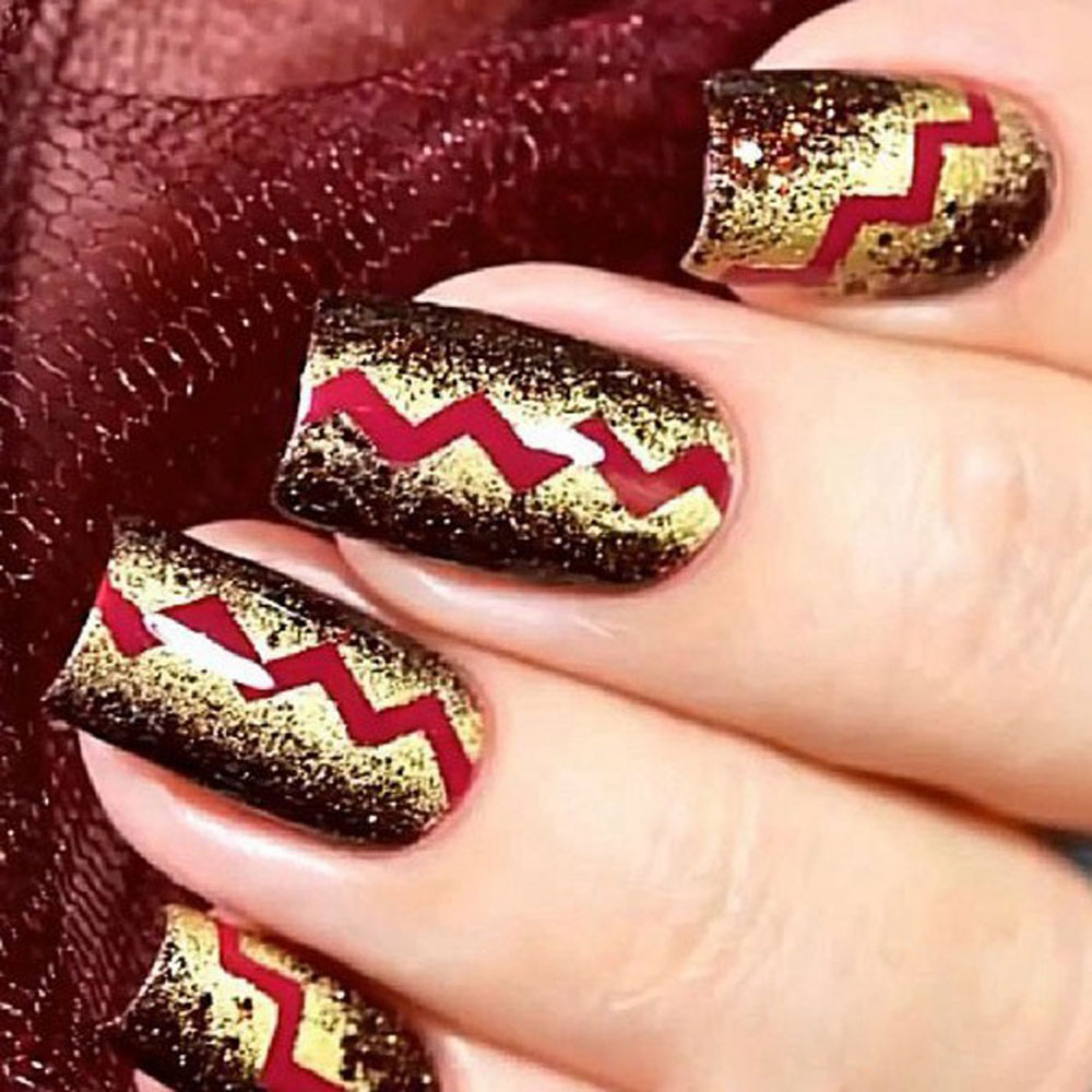 Nice Roll Nail Stickers DIY Waves Striping Tape Line Nail Art Tips Decor