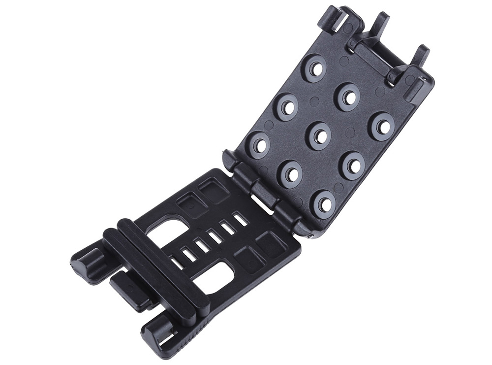 EDCGEAR Multifunctional Waist Clip Back Buckle K Sheath Scabbard Tools for Outdoor