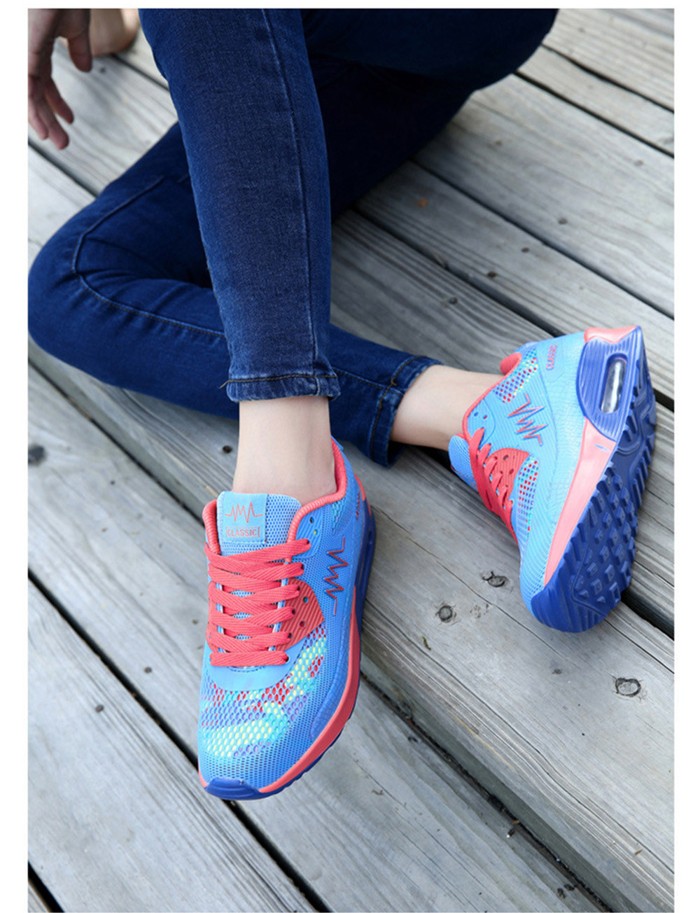 Casual Outdoor Camouflage Mesh Breathable Sneaker for Women
