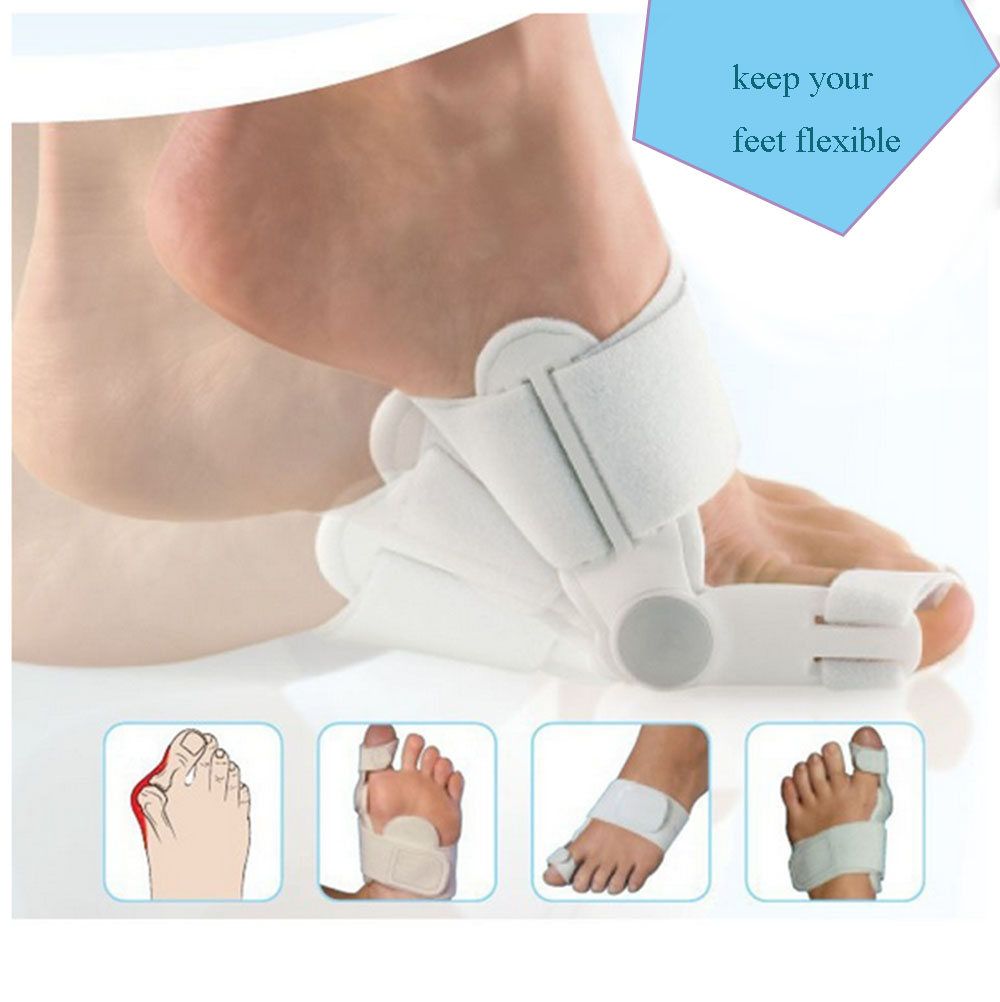 Rectification Toes Hallux Valgus Correction Footcare Orthopedic Day and Night Orthotics