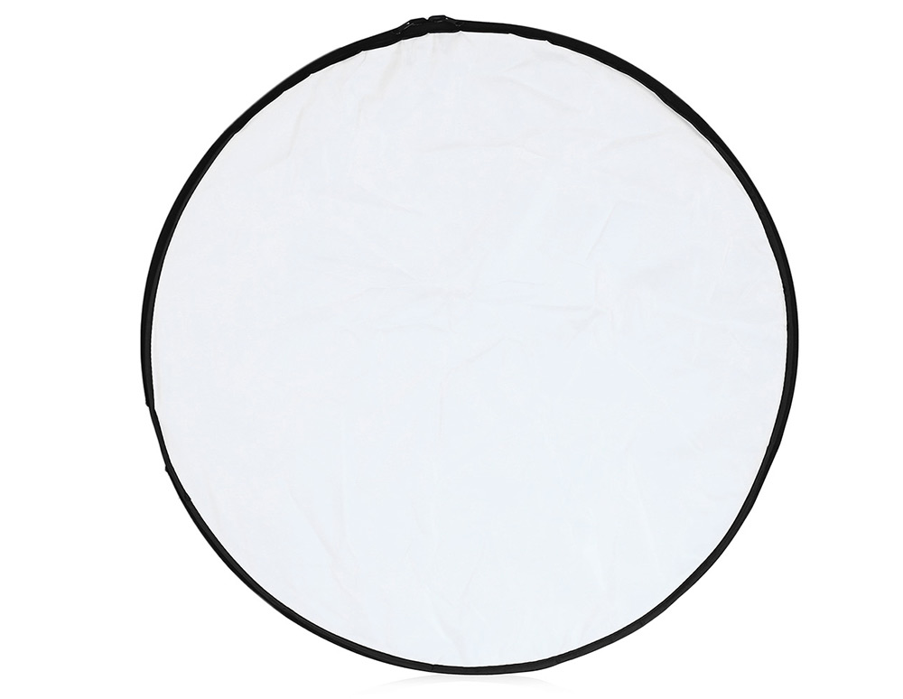 24 inch 60cm 5 in 1 Collapsible Portable Multi-disc Round Photography Lighting Reflector