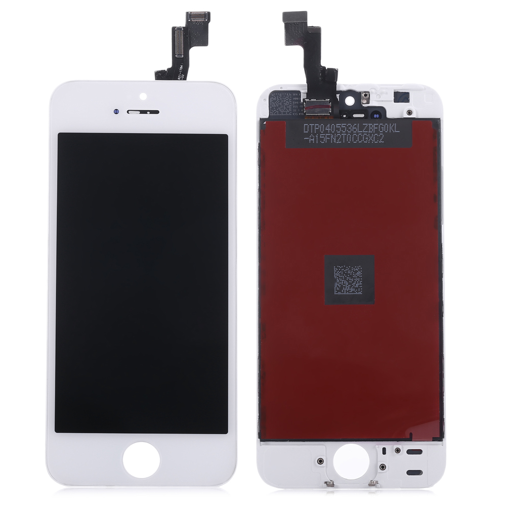 Replacement LCD Screen Assembly + Touch Glass Digitizer Phone Repair Tool Set for iPhone 5S