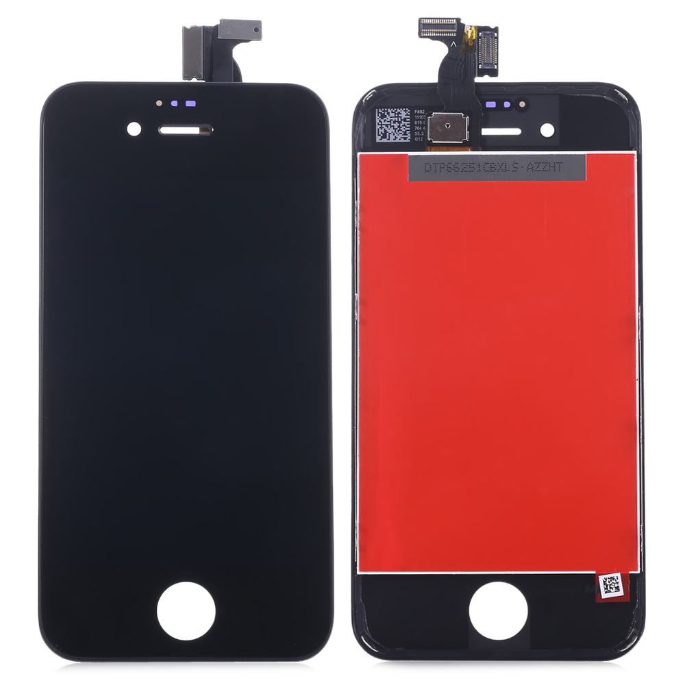 Replacement LCD Screen Assembly + Touch Glass Digitizer Phone Repair Tool Set for iPhone 4S